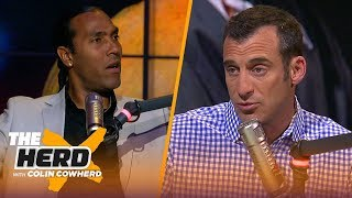T.J. Houshmandzadeh: Pats are not being overvalued, talks Mack trade & Big Ben | NFL | THE HERD Video