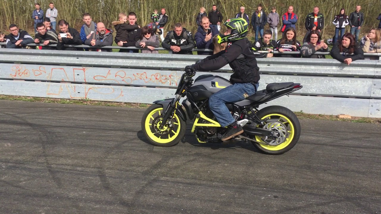stunt pecquencourt 2017 salon de la moto youtube