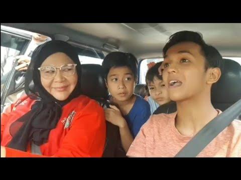 Merdu Suara AimanTino&Erma Fatima Nyanyi Lagu Tergantung Sepi Di Set Pengambaran Mak Cun 4!