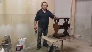 Refinishing Antique Cherry End Table Timeless Arts Refinishing