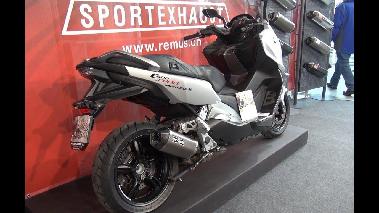 bmw motorrad c600 sport roller mit rollendem r autos. Black Bedroom Furniture Sets. Home Design Ideas