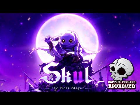 Skul: The Hero Slayer FR 4K. Spooky Scary Skeleton.