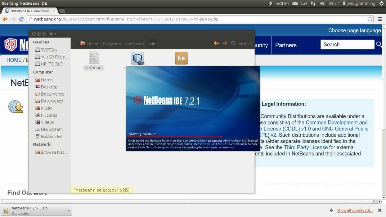 netbeans 7.2.1