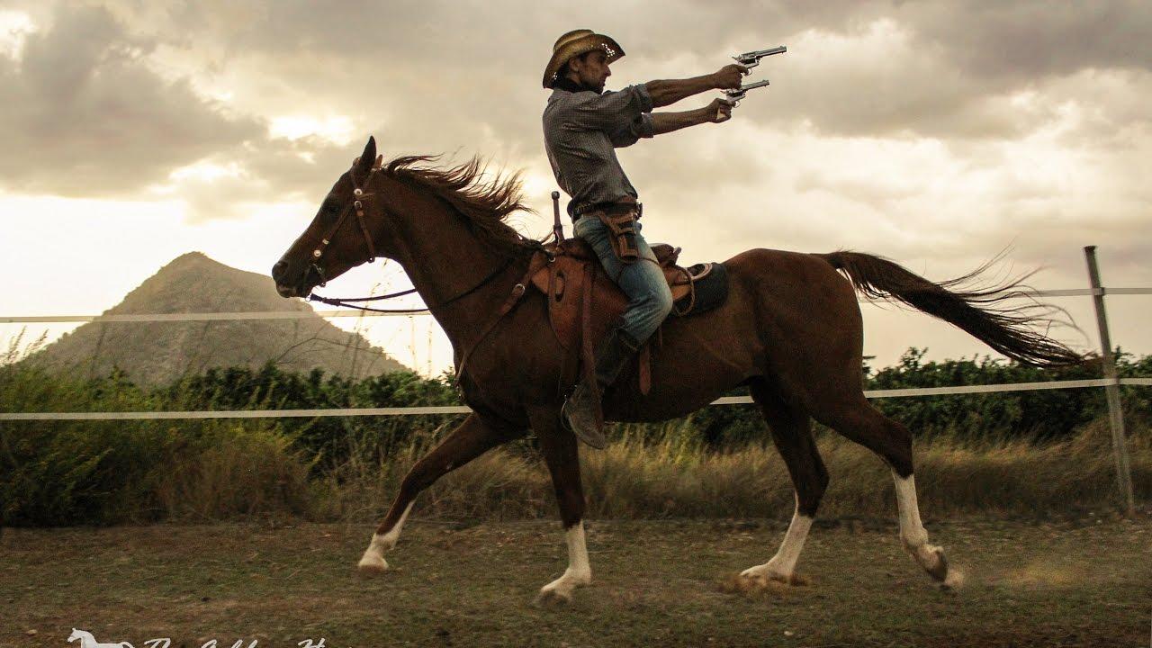 Ramonstunt Horse Cowboy Gun Spinning Youtube