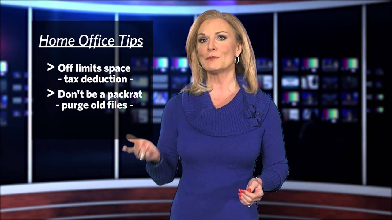 THE Small Business Expert: Home Office Organization - YouTube