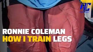 Ronnie Coleman - Explaining How I Train Legs