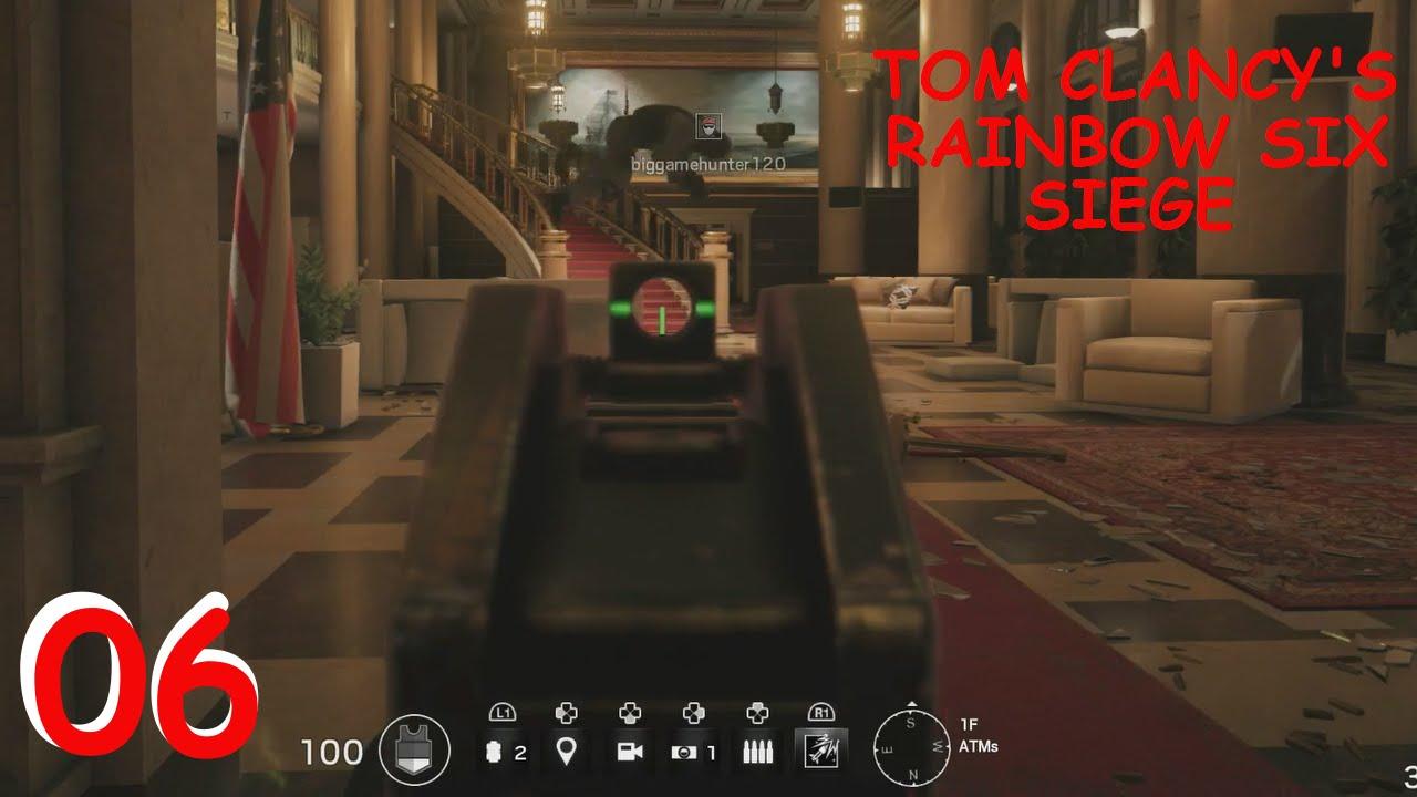 tom clancy 39 s rainbow six siege pro defender gameplay. Black Bedroom Furniture Sets. Home Design Ideas