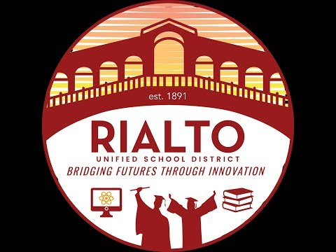 """Rialto USD """"LIVE"""" Meeting Of The Board Of Education 6/26/2019"""