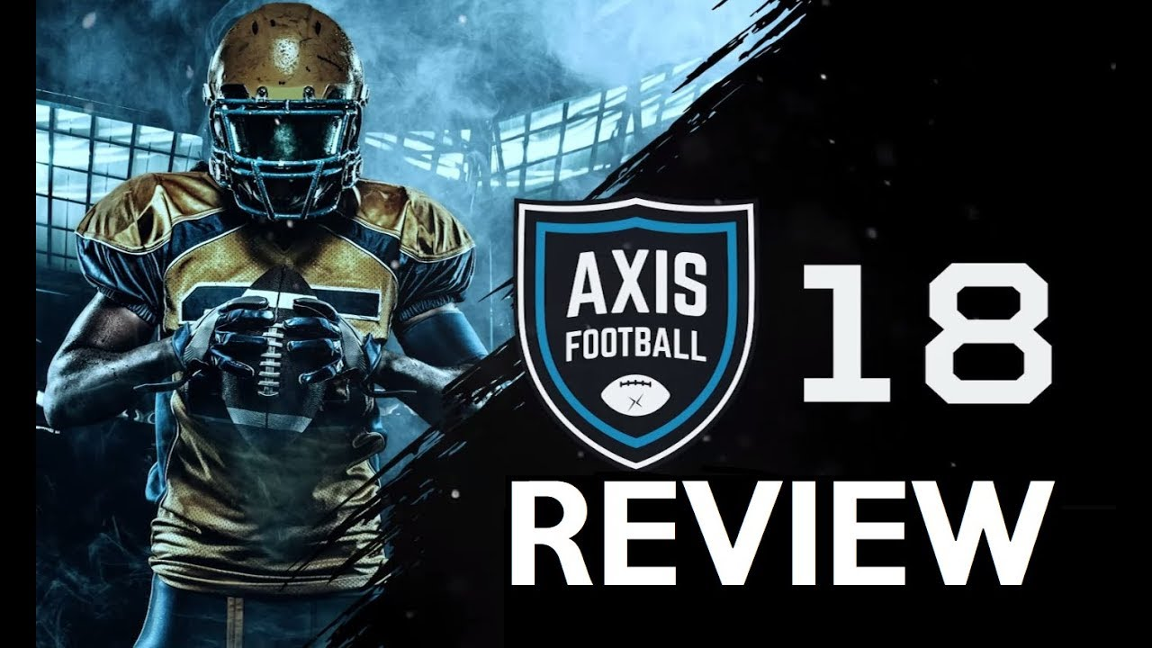 AXIS FOOTBALL 18 REVIEW