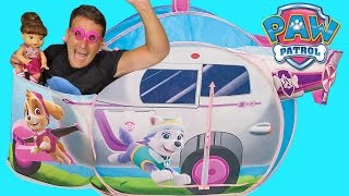 Paw Patrol Skye Helicopter Saves Baby Alive!  ! || Toy Review || Konas2002