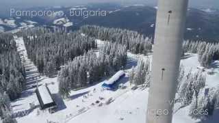 Bulgaria Skiing - PAMPOROVO AERIAL