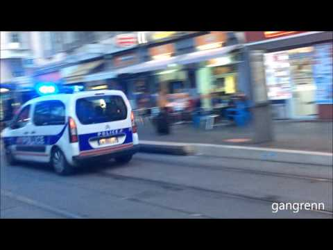 [collection] French police responding - Police nationale & municipale en intervention