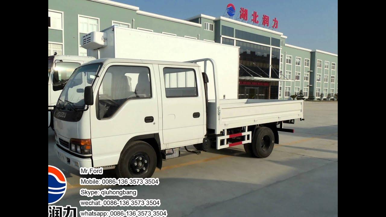 Canter truck sale double cabin 4wd japan import jpn car - Isuzu 100p Double Cabin Cargo Truck Special Automobile