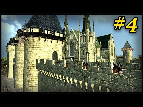 Awesome New Castle Design | Medieval Kingdoms Total War 1295 A.D Campaign #4