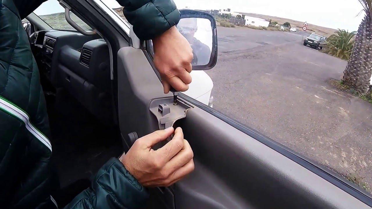 Desmontar la puerta de una furgoneta en 1 minuto - YouTube