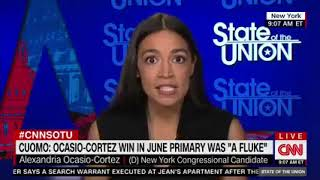 Ocasio-Cortez: Cynthia Nixon Lost Because I