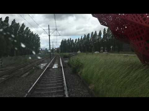 Tramrit lijn 15 van Nootdorp naar Kalvermarkt Den Haag