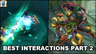 Best Champions Abilities Interactions Part 2 (Urgot/Kled/Sion/Taliyah/Yuumi) - League of Legends