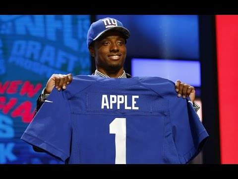 A Giants Fan's Live Reaction to The New York Giants Drafting Eli Apple (explicit)