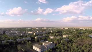 Кара-Балта с высоты птичьего полета