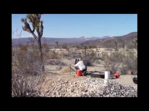 CA Desert Gold Prospecting 2/9/16