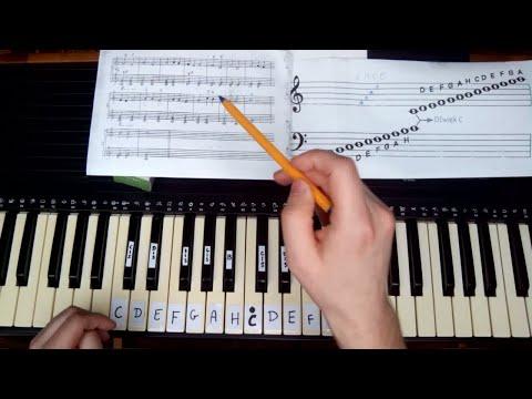 Nauka gry na keyboardzie - gamy, ćwiczenia palców