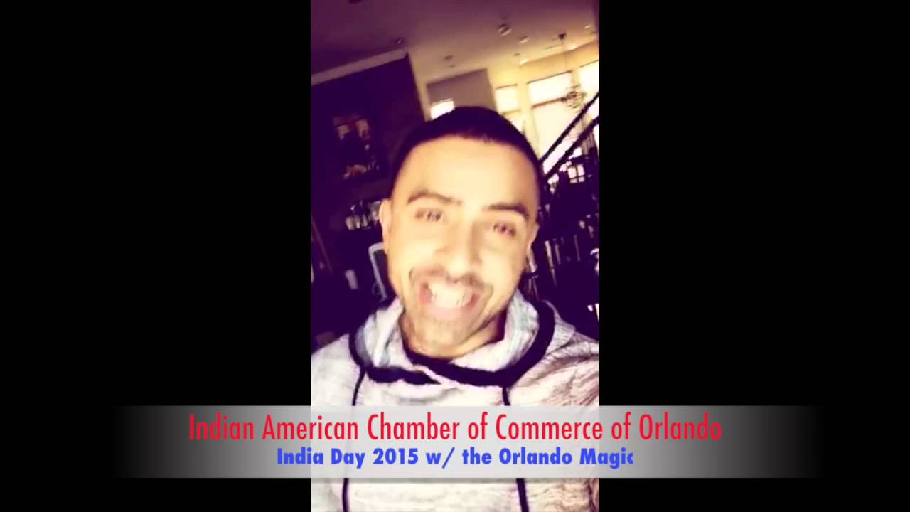 jay sean for india day 2015 with orlando magic   iacc   youtube