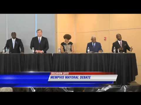 WATCH  Memphis mayoral debate   WMC Action News 5   Memphis, Tennessee 1