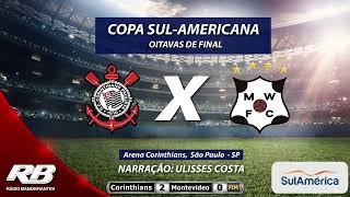 Copa Sul-Americana - Corinthians X Montevideo Wanderers - AO VIVO