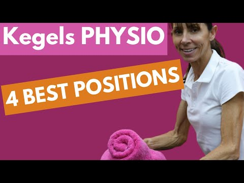 4 Best Positions to do Kegel Exercises Kegels Physical Therapy (for Beginners)