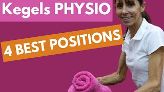 4 Best Positions to do Kegel Exercises - Kegels Physical Therapy (for Beginners)