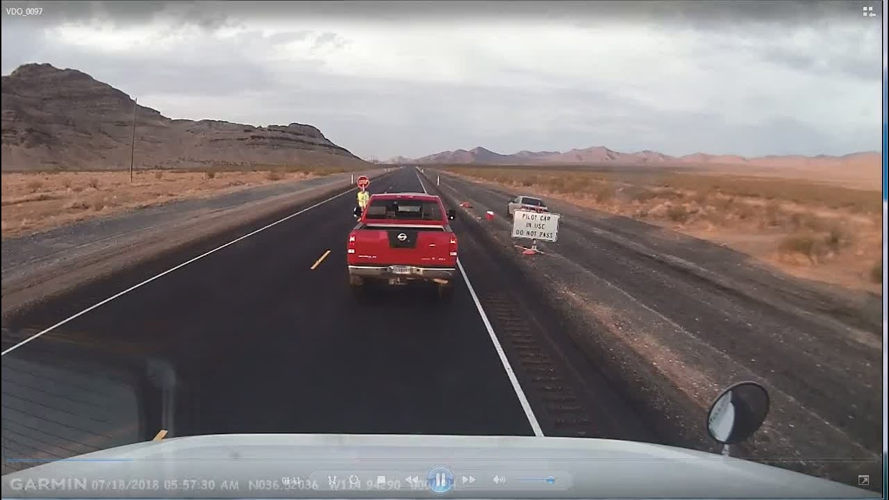 VIDEO: Dashcam video captures deadly semi-truck crash on US 93
