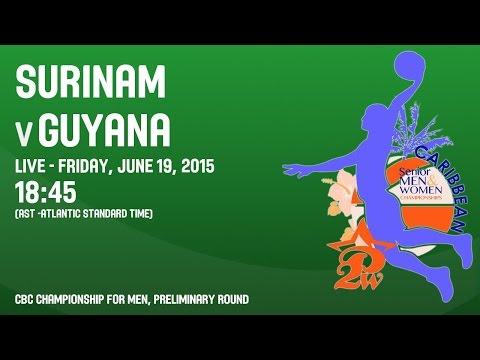Surinam v Guyana - Group B - 2015 CBC Championship