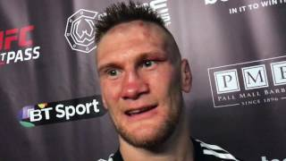 Alexander Jacobsen Post Fight CW 84