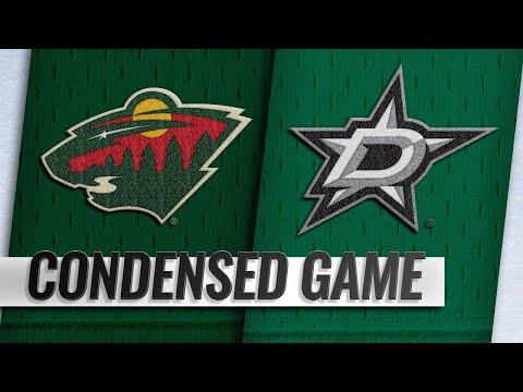 Обзор матча «Даллас Старз» — «Миннесота Уайлд»