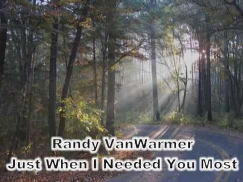 Just When I Needed You Most - Randy VanWarmer (with lyrics) - YouTube