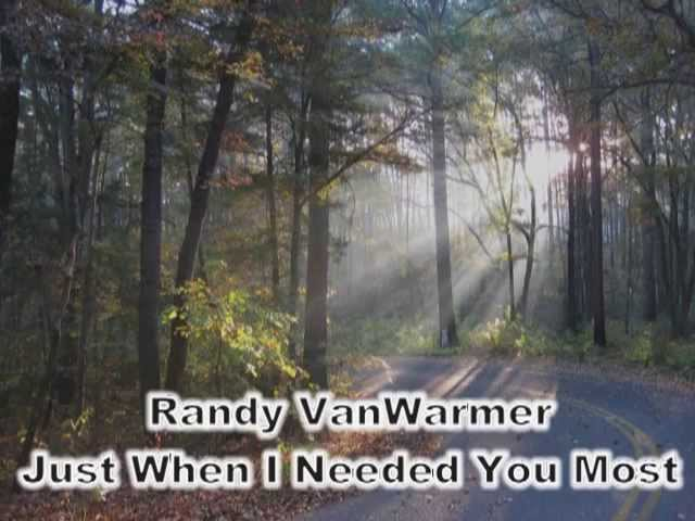 Just When I Needed You Most - Randy VanWarmer (with lyrics ...