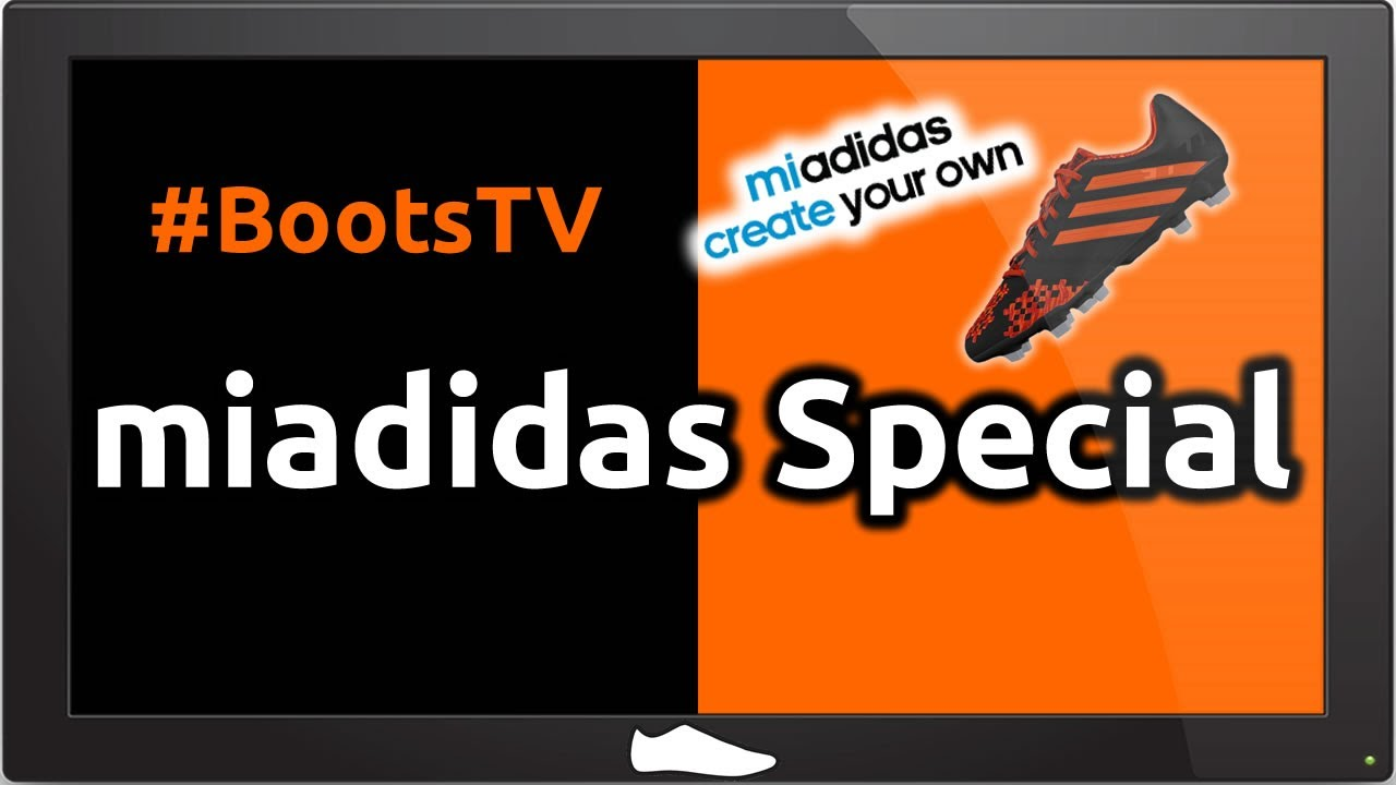 8d1473aa9f19 How to use miadidas for Football Boots - Boots TV Special - YouTube