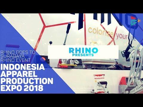 "Rhino Goes To Surabaya ""Indonesia Apparel Production Expo 2018"""