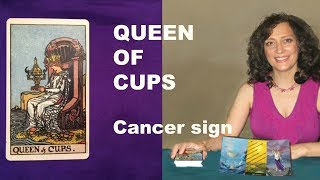 QUEEN of CUPS Tarot Reading (CANCER)