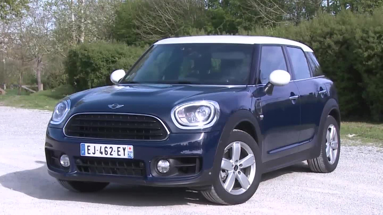 Essai Mini Countryman Cooper Red Hot Chili 2017 Youtube