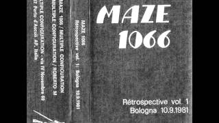Maze 1066 - Marcella (1981 Experimental Noise / Abstarct )