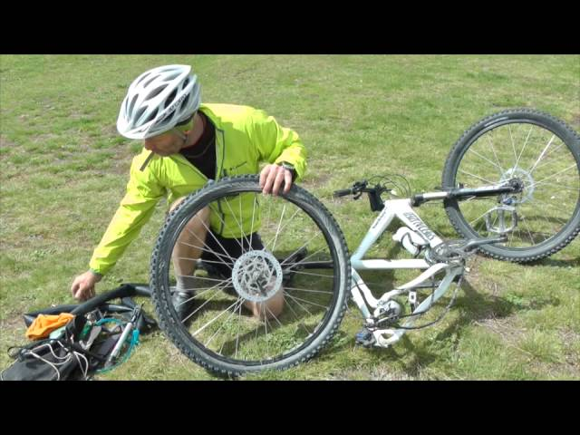 Cycling - Repairing a Puncture