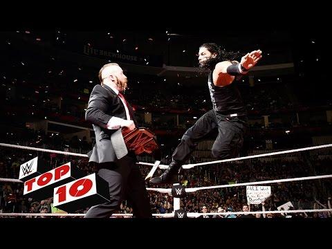 Top 10 Raw Momente: WWE Top 10 — 30. November 2015
