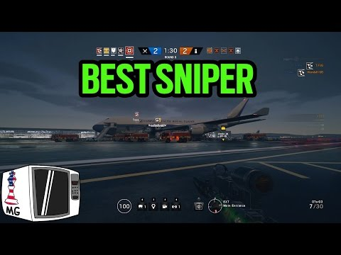 The Longest Sniper Headshot Ever - Rainbow Six Siege