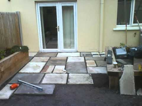 design ideas how to make a patio with pea gravel filler - youtube - Gravel Patio Designs