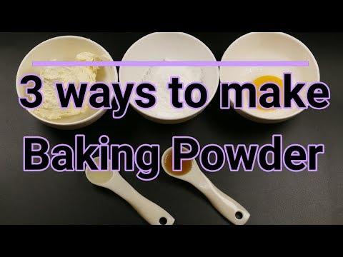 3 easy ways to make baking powder