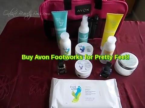Avon Footworks for Pretty Feet!