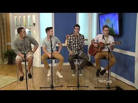 Big Time Rush - Like Nobody's Around || WCNC.com Charlotte Today