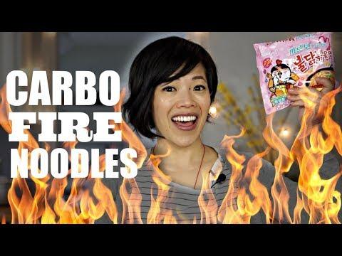 CARBO SPICY NOODLE CHALLENGE Samyang Carbonara Limited Edition